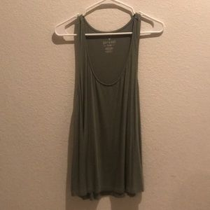Green Tank from American Eagle